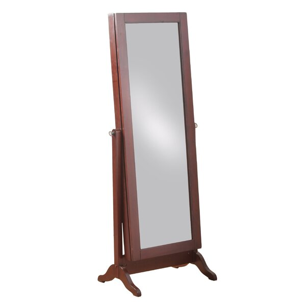 Peddie Sliding Jewelry Armoire with Mirror by Red Barrel Studio