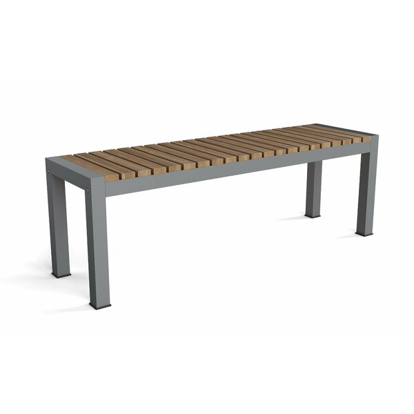 Adamina Aluminum Picnic Bench by Latitude Run