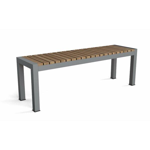 Adamina Aluminum Picnic Bench by Latitude Run