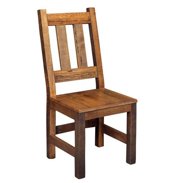 Rabon Solid Wood Dining Chair by Loon Peak Loon Peak