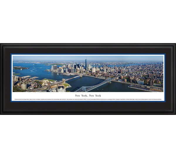 New York, New York by James Blakeway Framed Photographic Print by Blakeway Worldwide Panoramas, Inc