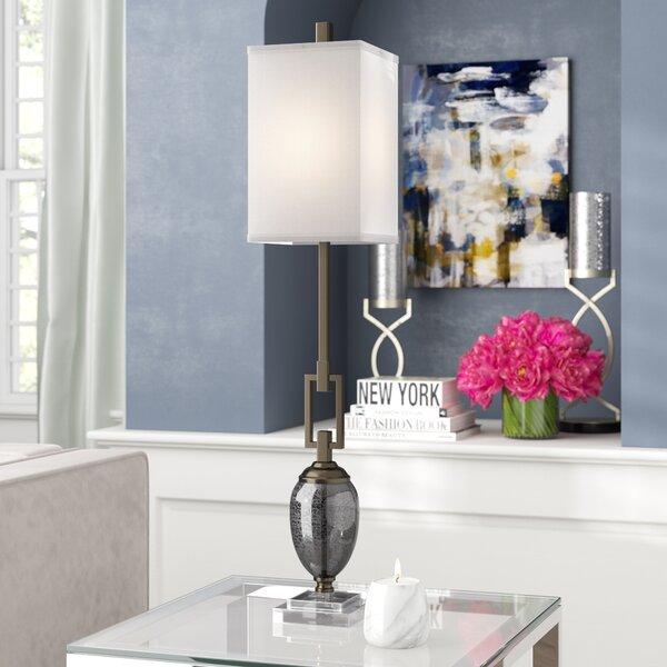 Brockside 37.25 Buffet Lamp by Willa Arlo Interiors