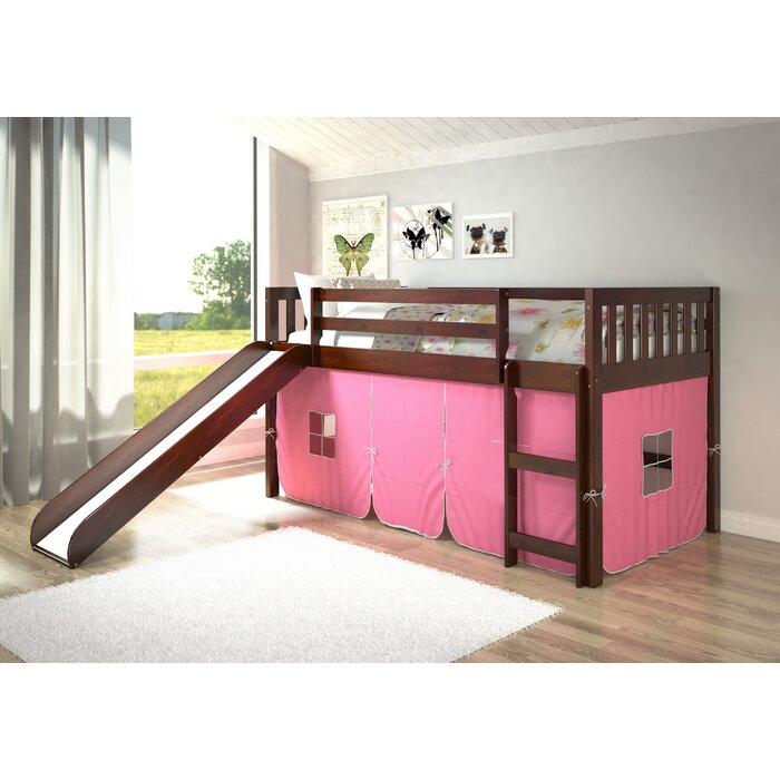 Viv + Rae Maribel Mission Twin Low Loft Bed & Reviews | Wayfair.ca