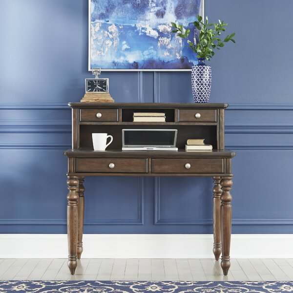Caitlynn Reversible Desk with Hutch