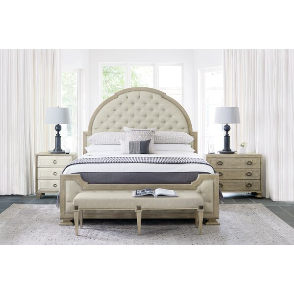 Santa Barbara Upholstered Queen Standard Configurable Bedroom Set by Bernhardt