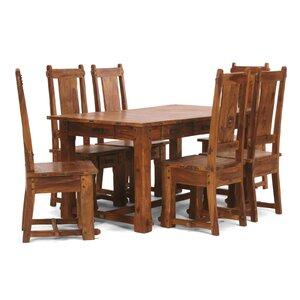Essgruppe Lisbon mit 6 Stühlen von Massivum