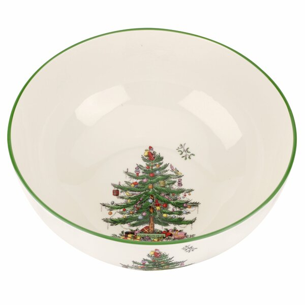 Christmas Tree Large Round Serving Bowl by Spode