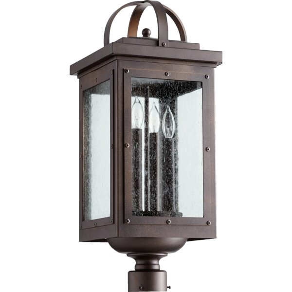 Jeremy Outdoor 4-Lights Lantern Head by 17 Stories