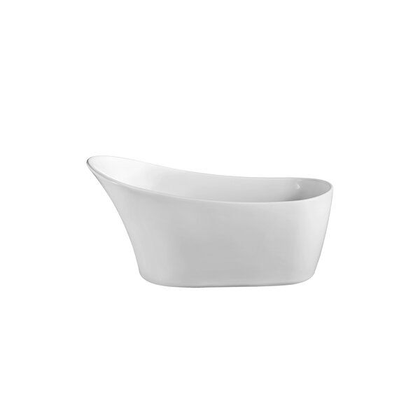 63 x 31.5 Freestanding Soaking Bathtub by Wildon Home ®