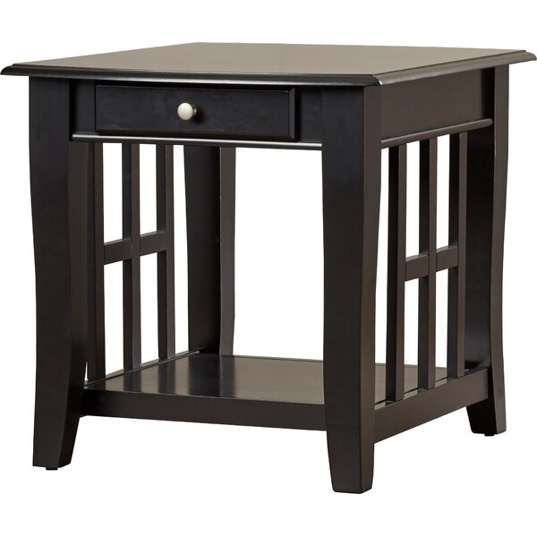Review Jennings End Table With Storage