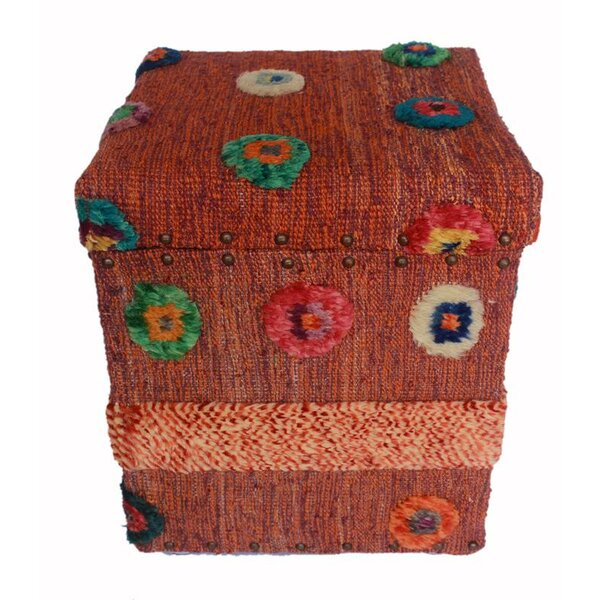Ridings Morrocan Storage Ottoman by World Menagerie
