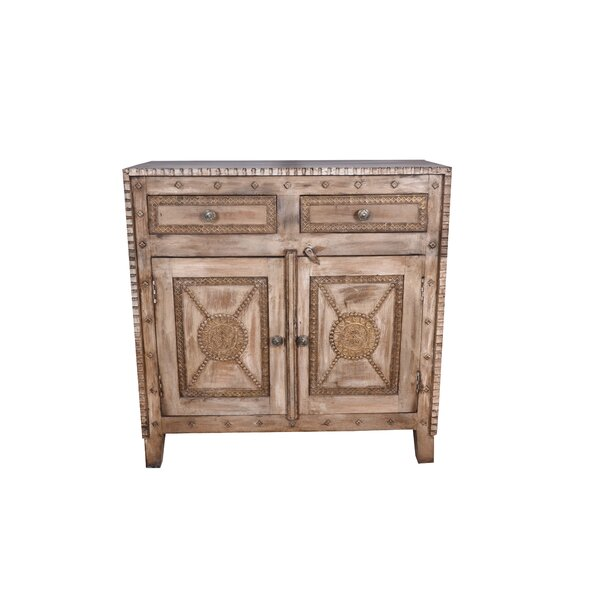 Wareham 2 Door Accent Cabinet by Bungalow Rose Bungalow Rose