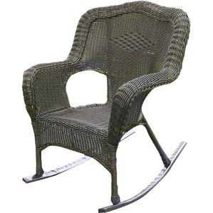 Superior Narron Wicker Resin Outdoor Rocking Chair (Set Of 2) Ideas