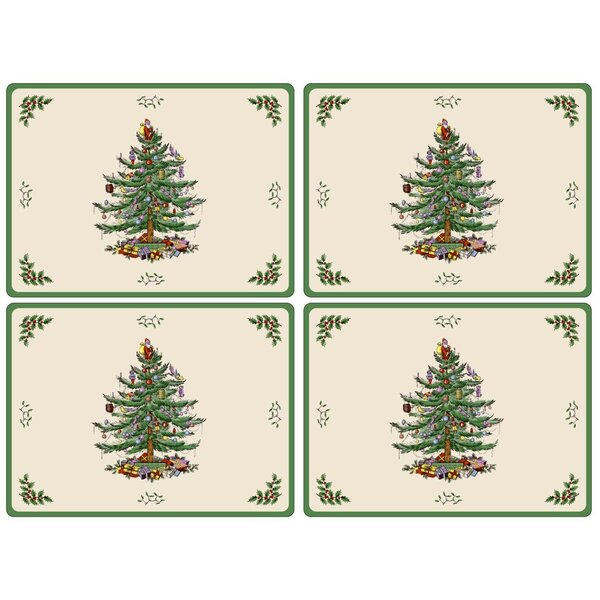 Christmas Tree Placemat (Set of 4) by Pimpernel