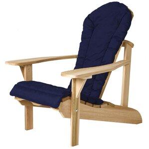 Charming Western Red Cedar Outdoor Adirondack Chair Cushion Amazing Design