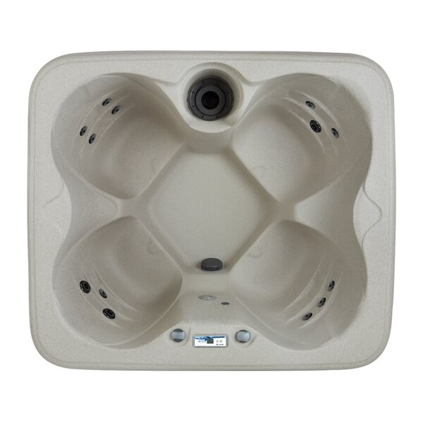 Rock Solid Simplicity 4-Person 13-Jet Plug and Play Spa by Lifesmart Spas