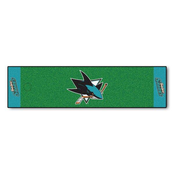 NHL - San Jose Sharks Putting Green Doormat by FANMATS