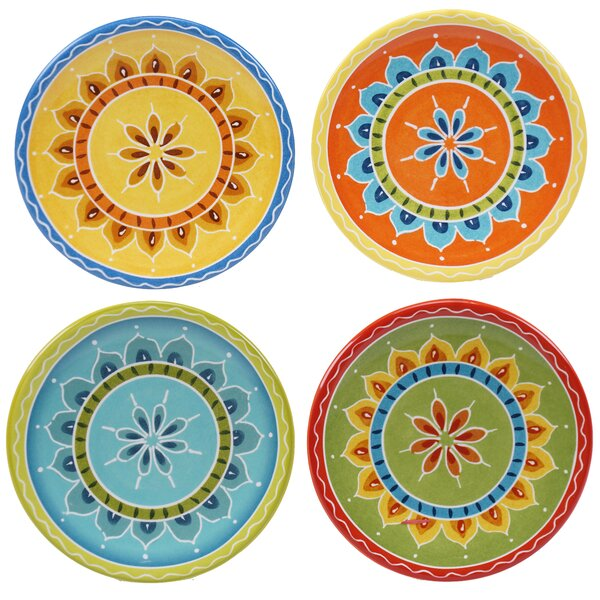Valencia 6.25 Canape Plate (Set of 4) by Certified International