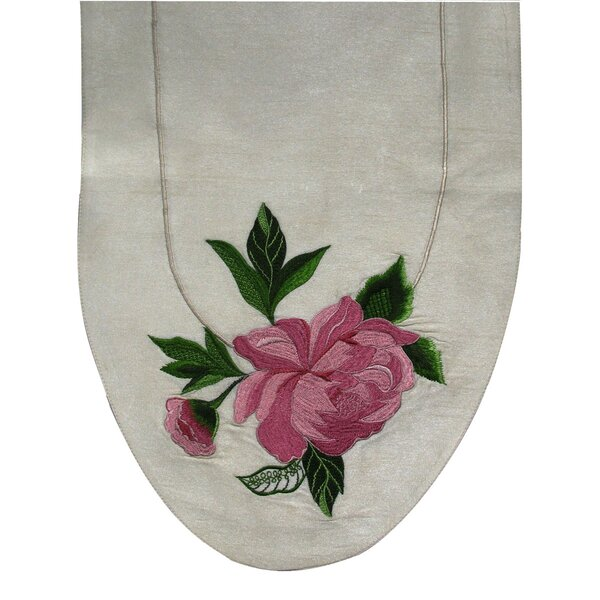 Peony Table Runner by Golden Hill Studio
