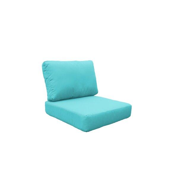 Manhattan Outdoor 4 Piece Lounge Chair Cushion Set by TK Classics