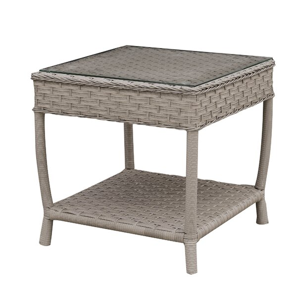 Newberg Glass Side Table By Charlton Home by Charlton Home Cool