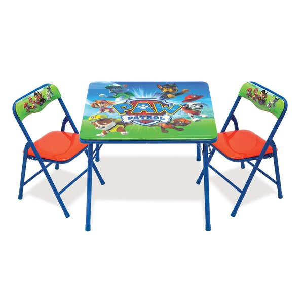 Kaleigh Paw Patrol Square Table and Chair Set by Zoomie Kids
