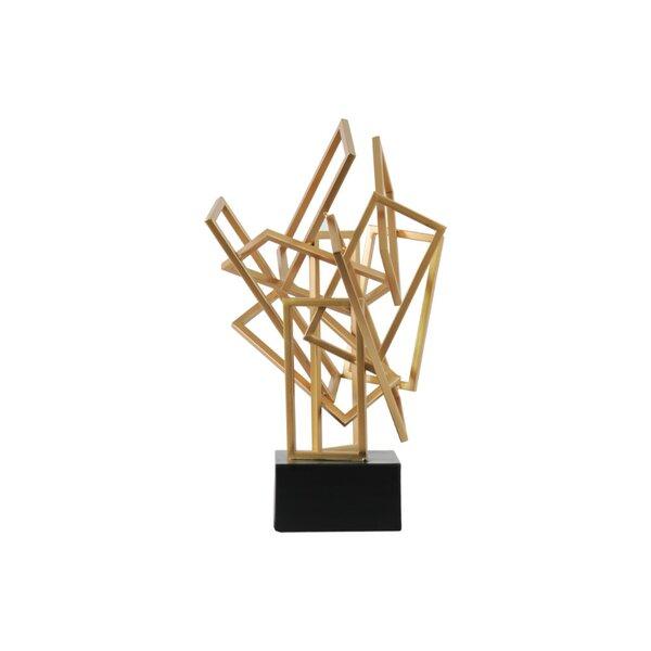 Parrish Metal Cascading Sculpture by Orren Ellis