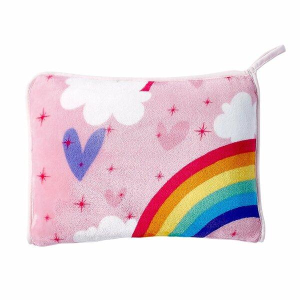 Jayapura Rainbow Pillow by Zoomie Kids