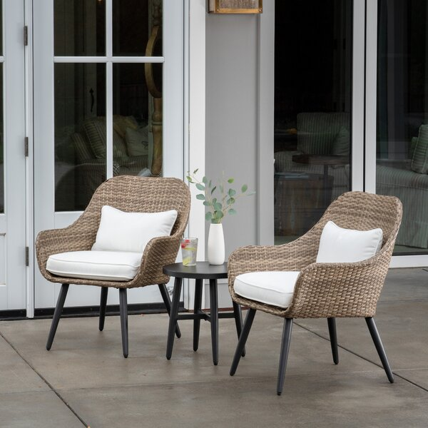 Giavanna 3 Piece Sofa Seating Group by Highland Dunes