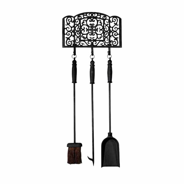 Fancy Flames Metal Fireplace Tool Set by EsschertDesign