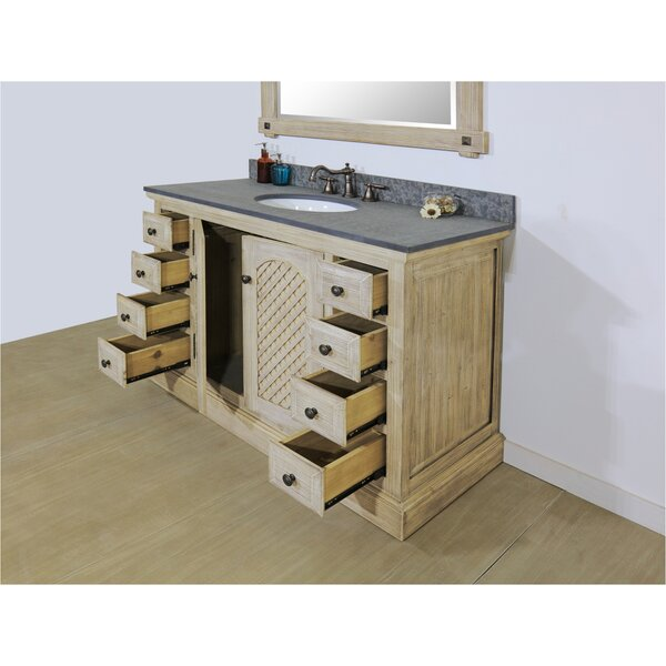 Volkman Rustic Solid Fir 49 Single Bathroom Vanity Set by Millwood Pines
