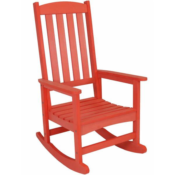 Balfour All-Weather Rocking Chair by Millwood Pines
