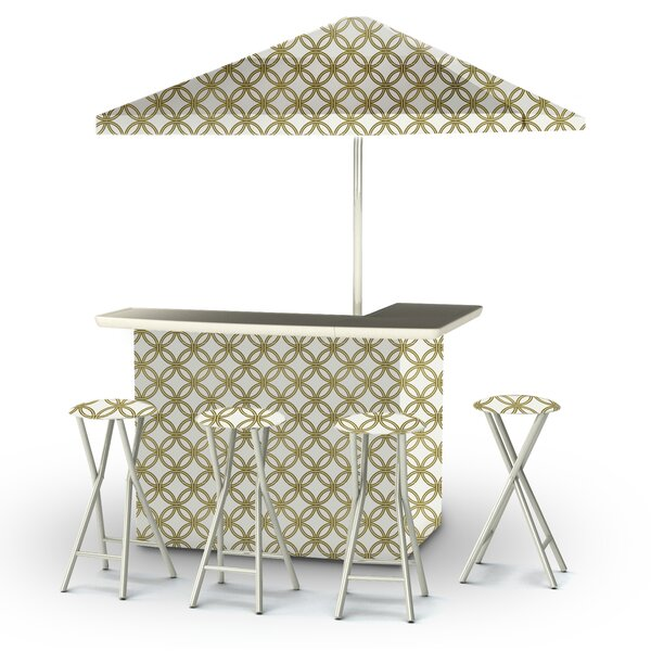 6 Piece Patio Bar Set by Best of Times Best of Times