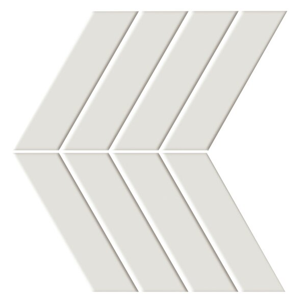 Shape 4.5 x 6.5 Porcelain Mosaic Tile in Beige by Emser Tile