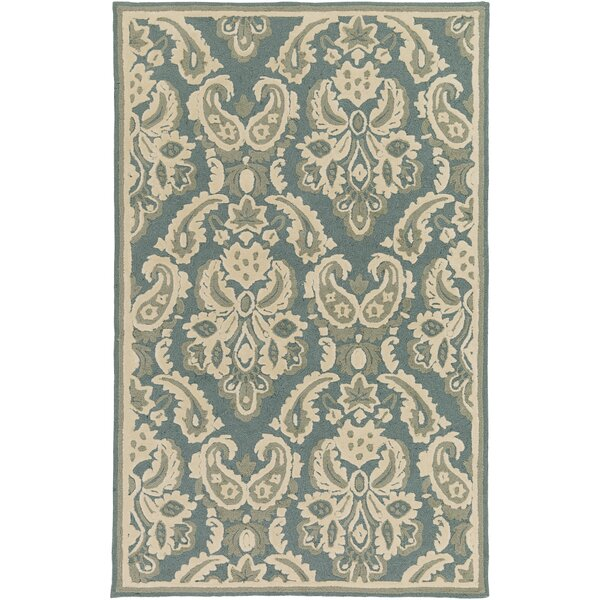Bellville Ivory Hand-Hooked Indoor/Outdoor Area Rug by Darby Home Co