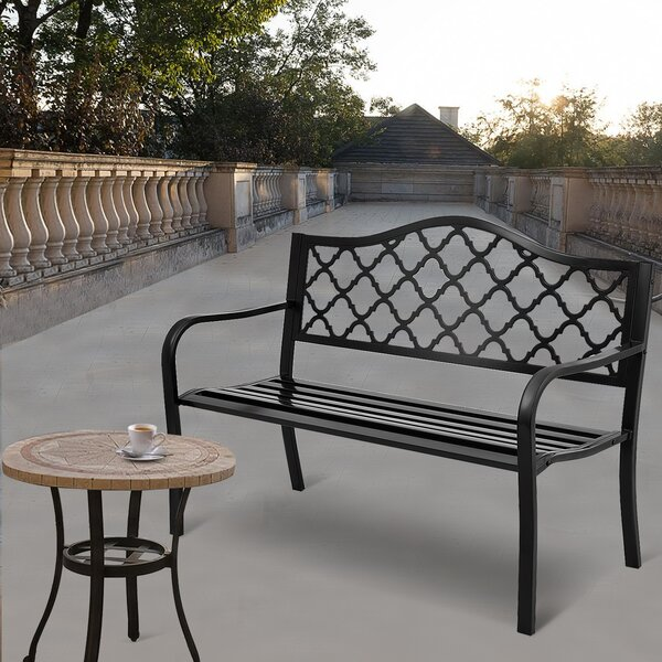Plattsburgh Garden Bench by Winston Porter