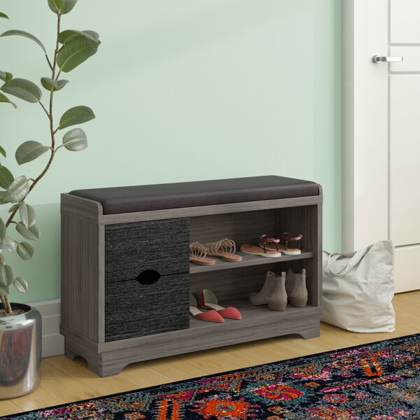4 Pair Shoe Storage Bench by Red Barrel Studio