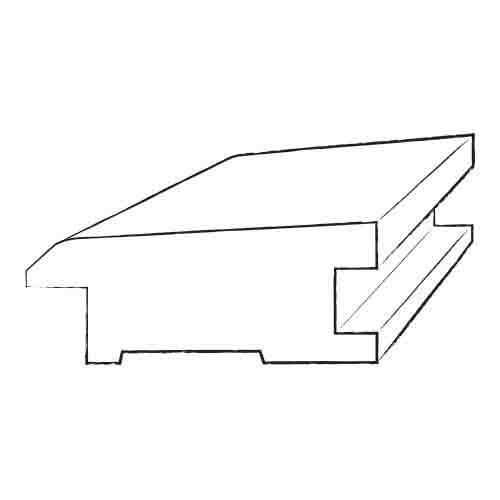 0.75 x 2.25 x 78 Red Oak Reducer by Moldings Online
