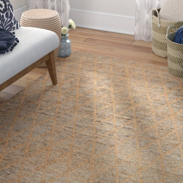Gerardo Hand-Woven Natural Area Rug by Mistana