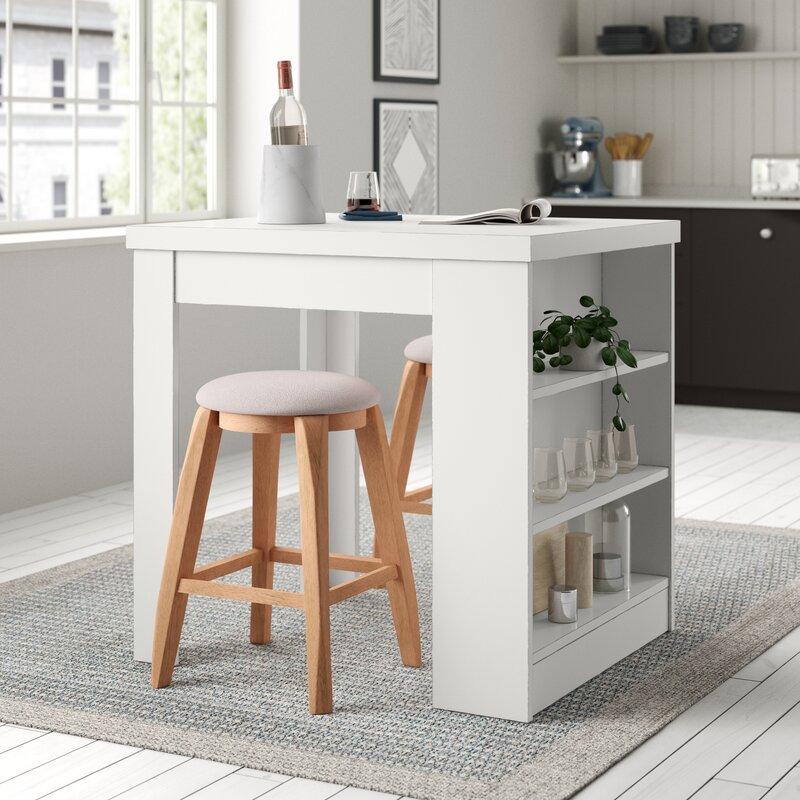 White Cane Outdoor Furniture, Zipcode Design Dangelo Counter Height Dining Table Reviews Wayfair