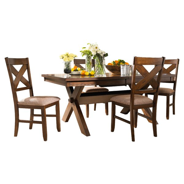 Warsaw 5 Piece Extendable Dining Set by Alcott Hill Alcott Hill