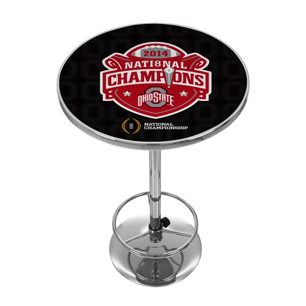 #2 OSU National Champions Pub Table By Trademark Global New