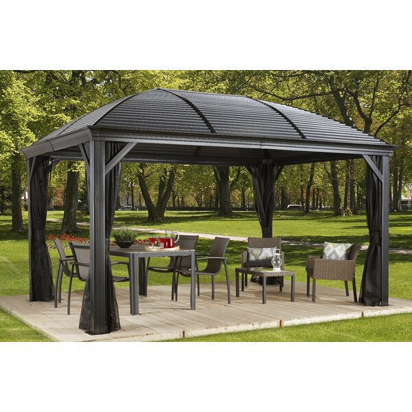 Moreno Aluminum Patio Gazebo by Sojag