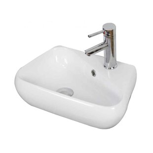 Check Prices Ceramic Specialty Bathroom Sink with Faucet and Overflow By American Imaginations