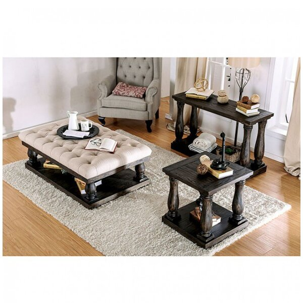 Blackfriars 3 Piece Coffee Table Set by Canora Grey
