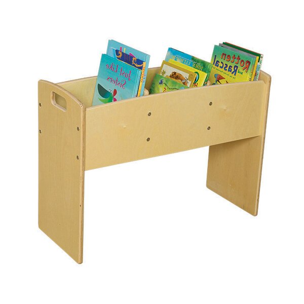 Clarendon 3 Compartment Book Display with Bins by Symple Stuff