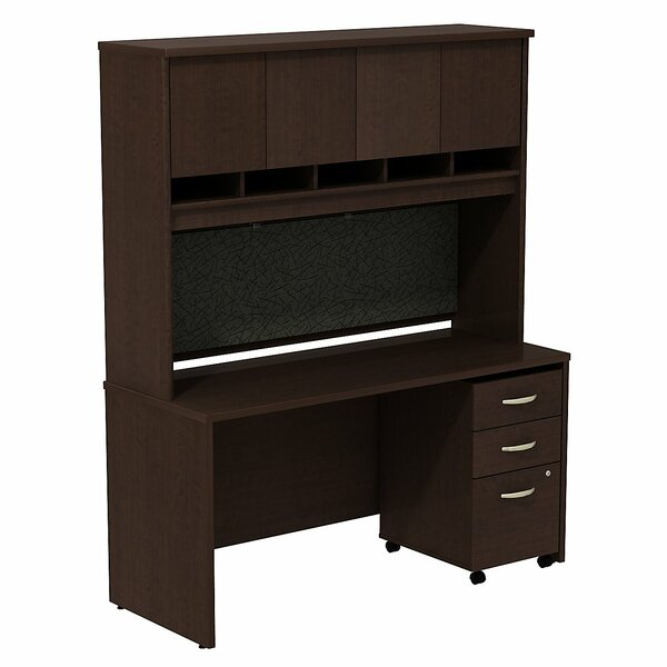 Series C Desk with Hutch