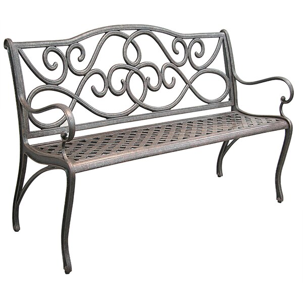 Mcgarity Cast Aluminum Park Bench by Darby Home Co