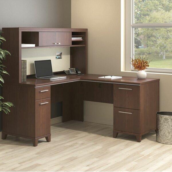 Enterprise 2 Piece L-Shape Desk Office Suite by Bush Business Furniture