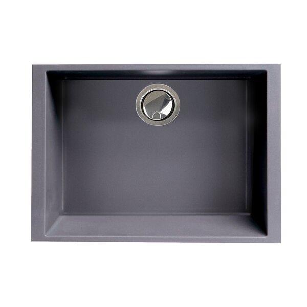 Granite Composite 24 L x 18 W Undermount Kitchen Sink